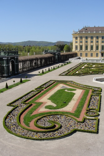 Schönbrunn privy garden